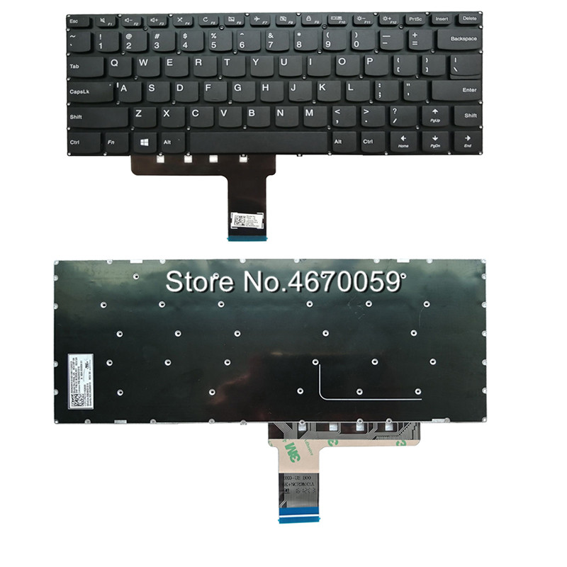 New Black US Keyboard For Lenovo IdeaPad 310 14IAP 310 14IKB