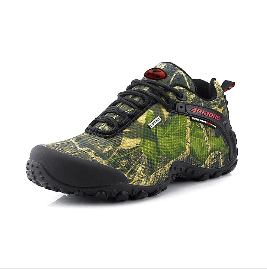 Hiking-Shoes Fishing Climbing Breathable Waterproof Camping New Anti-Skid The Canvas