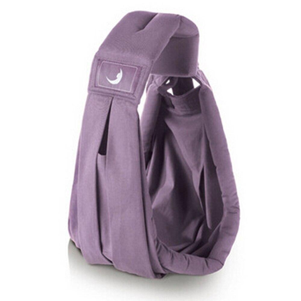 Детский рюкзак-кенгуру для переноски детей несущая переноска для новорожденных Удобная противоскользящая сумка 4 цвета - Цвет: purple