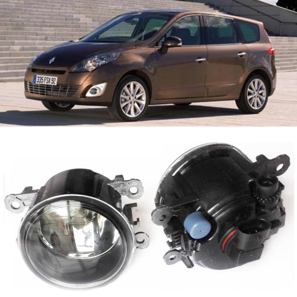 For Renault GRAND SCENIC III JZ0 JZ1  MPV  2009-2015 Car styling Fog Lamps halogen Fog lights 1SET