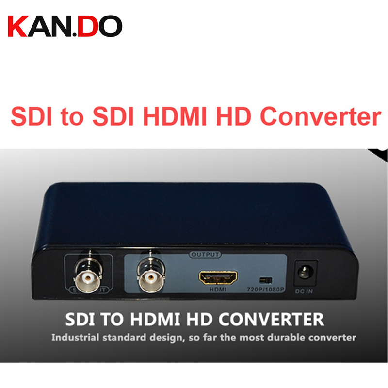 368PRO Auto detect resolution HD-SDI SD-SDI & 3G-SDI to HDMI Converter 720P/1080P SDI HDMI adapter Converter video connector ekl sdi to hdmi 720p 1080p adapter video converter