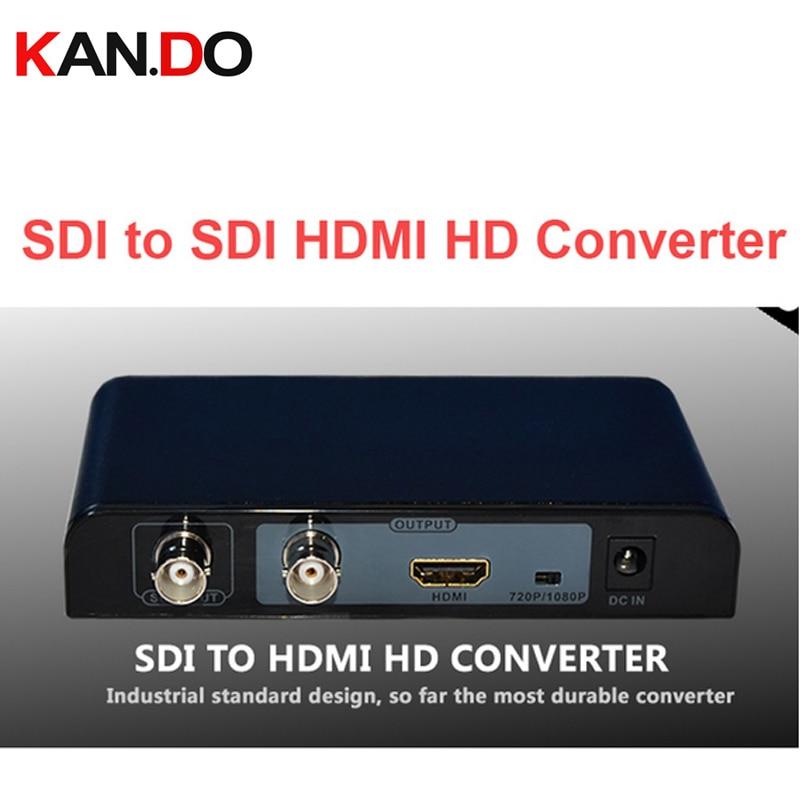 368PRO Auto Detect Resolution HD-SDI SD-SDI & 3G-SDI To HDMI Converter 720P/1080P SDI HDMI Adapter Converter Video Connector