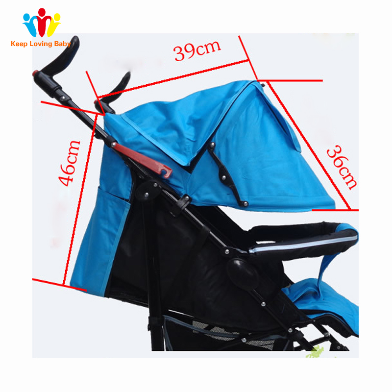 Baby Stroller Accessories Kids Sunshade Cover Warm Windproof Hood Protection Canopy Sun Visor Stroller Accessories Dropshipping
