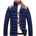 2016 Men Winter Jacket Warm parka Casual All-match Men Coat Popular Coat For Male Black Color Size M-4XL  671