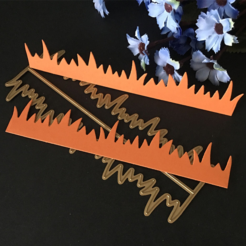 Carbon Steel Cutting Dies Witch Forest Paper Craft Emboss Punch Stencil Mold