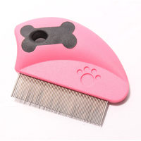 Brush Comb Pet Dog Hair Trimmer Grooming Rubber Anti Static Rake Taddy Chihuahua Small Animals Cat