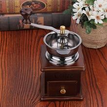Manuelle Kaffeemühle Bohnensamen Pfeffermühle Werkzeuge Küche Kochutensilien Zubehör