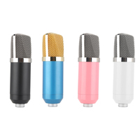 BM 700 Professional 3 5mm Wired Sound Recording Condenser Microphonefor Radio Braodcasting Computer
