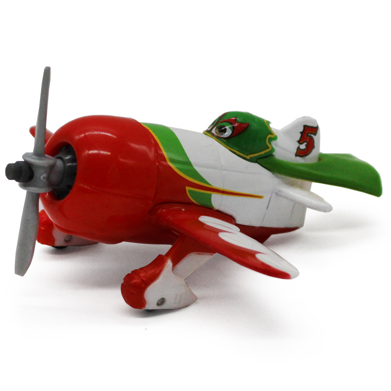Disney Pixar Cars 2 Planes No.5 El Chupacabra 10cm Metal Diecast Classic Alloy Toy Plane Model For Children 1:55 New In Stock