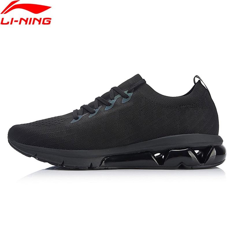 Li-ning hommes bulle ARC coussin chaussures de course réfléchissant Mono fil respirant doublure chaussures de Sport baskets ARHN049 XYP753