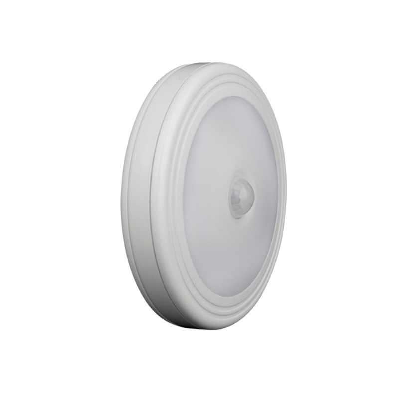 Датчик движения светодиодный ночник беспроводной детектор настенный светильник авто вкл/выкл батарея мощность кухня