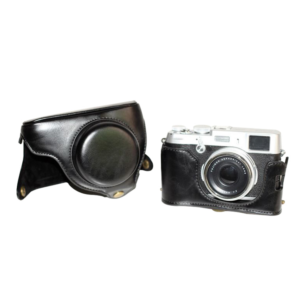 Higher Quality Leather Camera Case Bag Lc X100s X100 Finepix Fujifilm Iphone 5 Custom Hard X100t Black In Video Bags From Consumer Electronics On