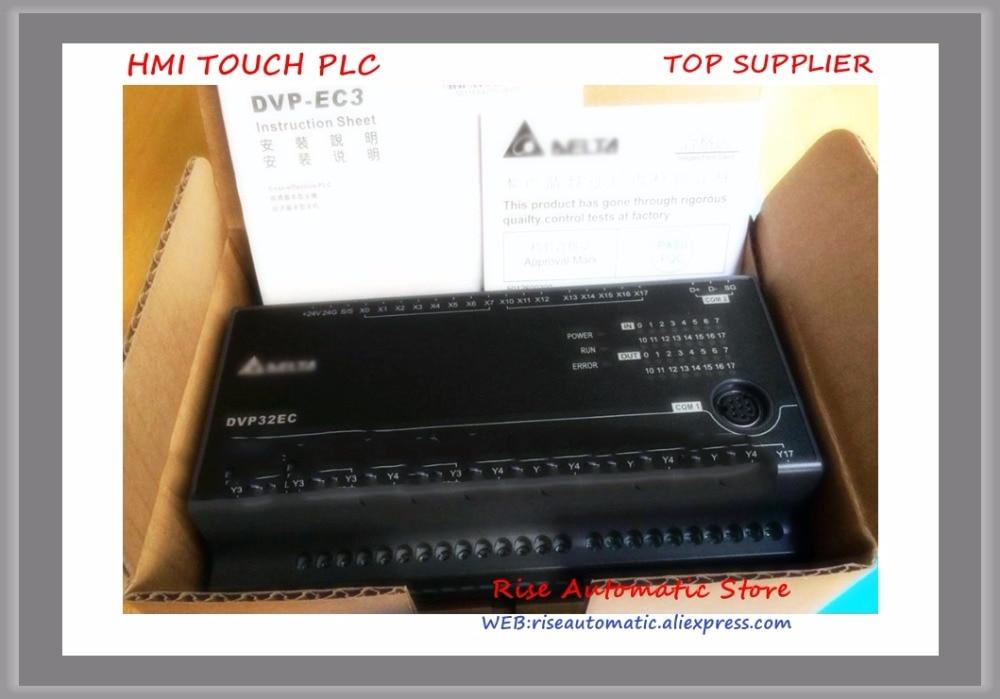 DVP32EC00T3 New Original Delta PLC EC3 series 100-240VAC 16DI 16DO Transistor output new original dvp30ec00t3 delta plc ec3 series 100 240vac 18di 12do transistor output