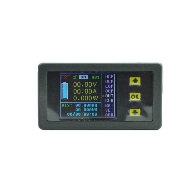 DC 120v 100A LCD Combo Meter Wireless Voltage current KWh Watt Meter 12v 24v 48v Battery Capacity Power monitoring + 100A Shunt nc dc dc dc adjustable voltage regulator module integrated voltage meter 8a voltage stabilized power supply