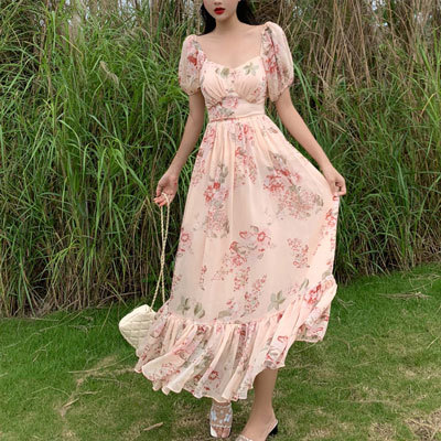 Summer Women Clothes French...
