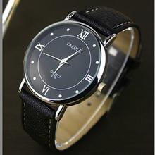 YAZOLE Top Brand business models Watch Men Luxury leather watch Quartz-watch Business Mens Male Clock Relogio Masculino