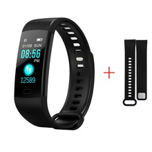 2018 new smart watch men in digital watch IP67 waterproof Heart rate watch for Android IOS men's watches digital PK mi band 3(China)