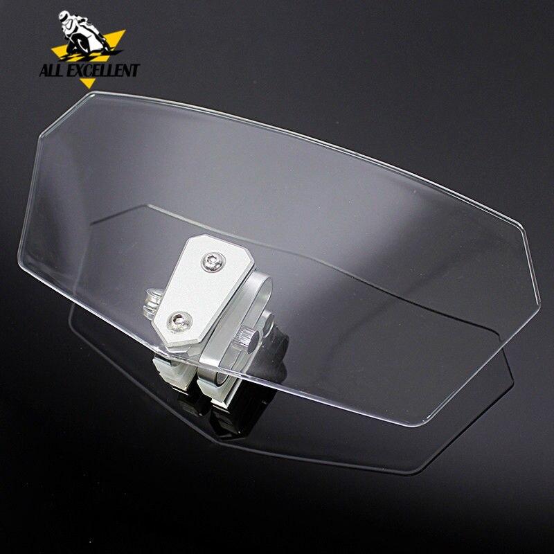 Pare-brise déflecteurs de vent Extension de l'écran déflecteur Spoiler pour BMW R 1200 GS R1200GS Adventure R1200RT F800GS F 800 GS