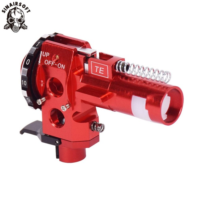US $50 11 19% OFF|Tactical PRO AEG CNC Aluminum Red Hop Up Chamber For M4  M16 Airsoft Hunting Accessories Paintball Target Shooting on Aliexpress com
