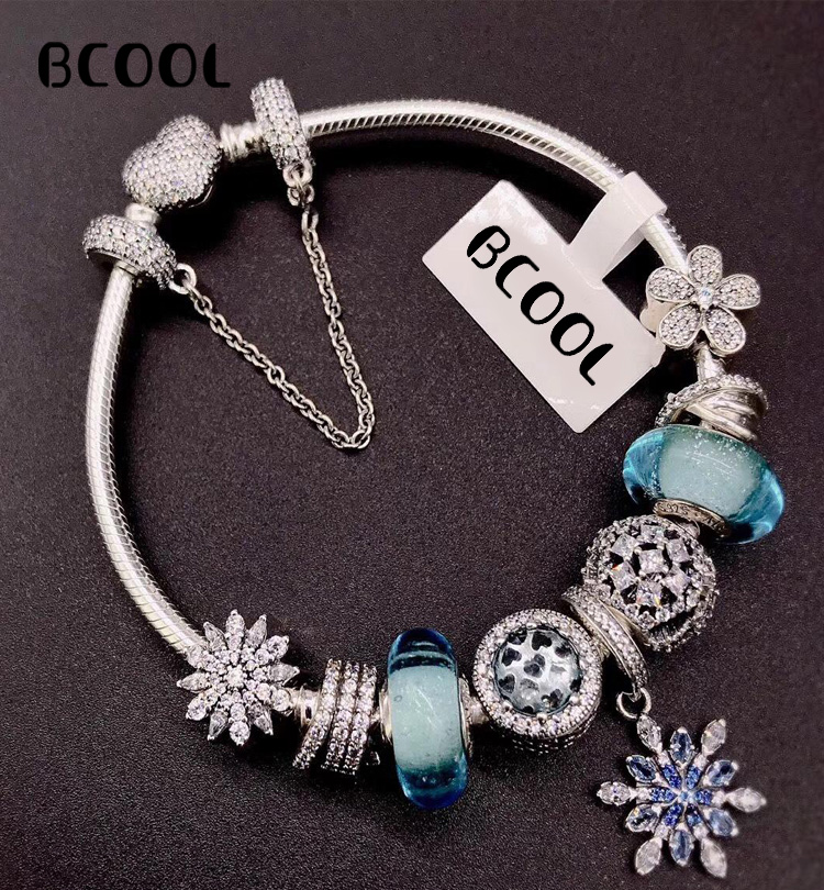 DIY Jewelry Female Charm Fashion Silver 925 Original Bracelet, Suitable for Female Crystal Jewelry Bracelet Jewelry GiftDIY Jewelry Female Charm Fashion Silver 925 Original Bracelet, Suitable for Female Crystal Jewelry Bracelet Jewelry Gift