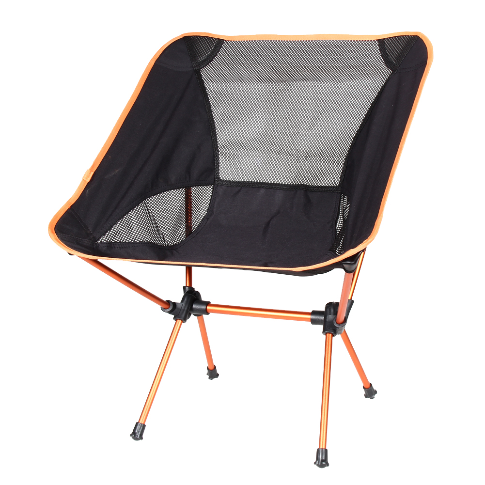 ФОТО Ultra Light Beach Chair Outdoor Camping Portable Folding Lightweight Chair For Hiking Fishing Picnic Barbecue Vocation Casual