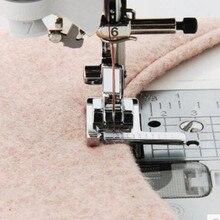 Многофункциональная бытовая швейная машина прижимная лапка рулетка с линейкой руководство по стежку ШВЕЙНАЯ Лапка оснастка на металлической AA7016-2