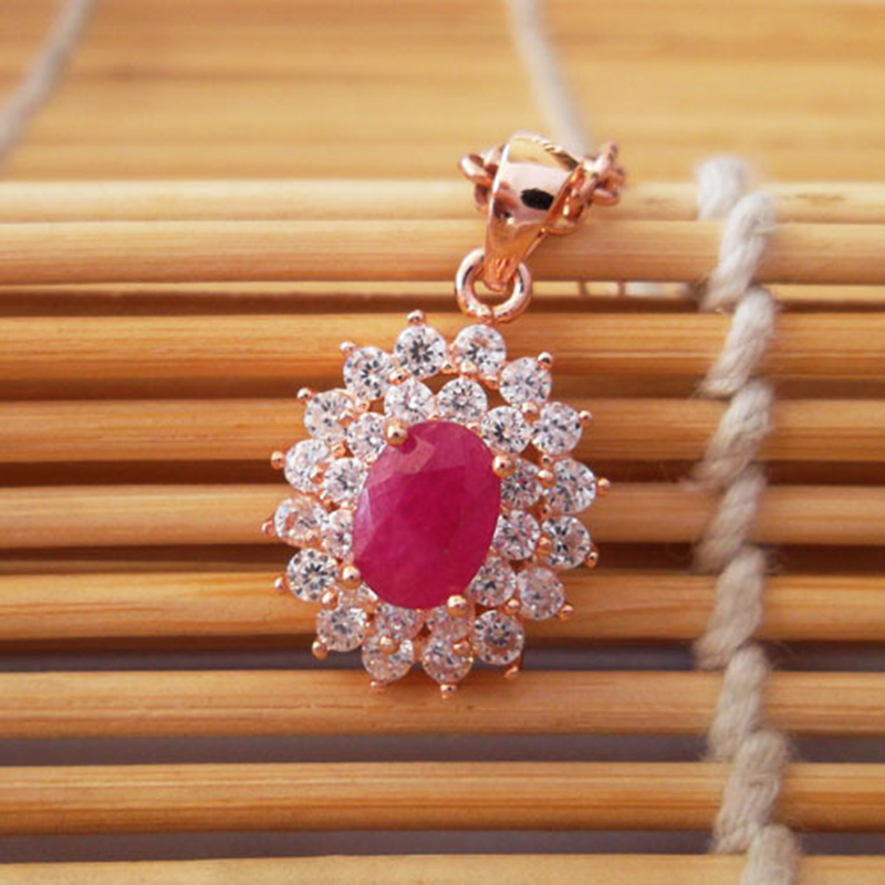 Classic genuine ruby pendant 5 mm 7 mm natural ruby gemstone solid classic genuine ruby pendant 5 mm 7 mm natural ruby gemstone solid 925 silver ruby necklace pendant ruby jewelry in pendants from jewelry accessories on mozeypictures Gallery