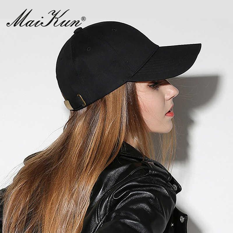 Maikun الأزياء قبعة بيسبول للجنسين قبعة قابلة للتعديل القبعات العظام القطن قبعات للرجال النساء الهيب هوب القبعات قناع