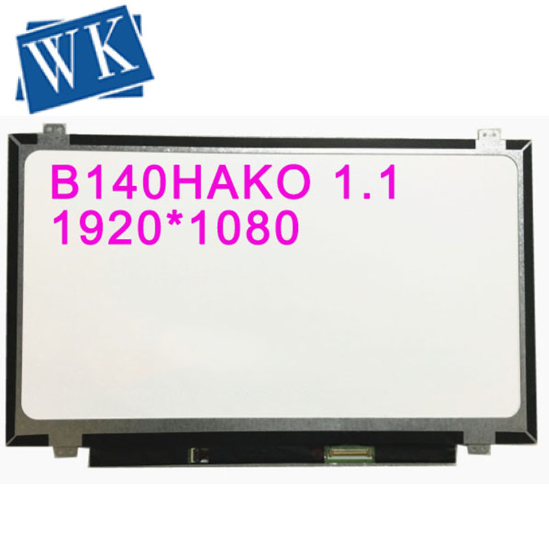 B140HAK01.1 B140HAK01 14.0''inch touch screen LED LCD Matrix Screen 1920* 1080P EDP 40 Pins IPS