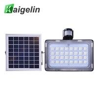 Kaigelin LED Solar Floodlight 50W Outdoor Lighting LED Lamp With PIR Motion Sensor 5730 SMD DC12V