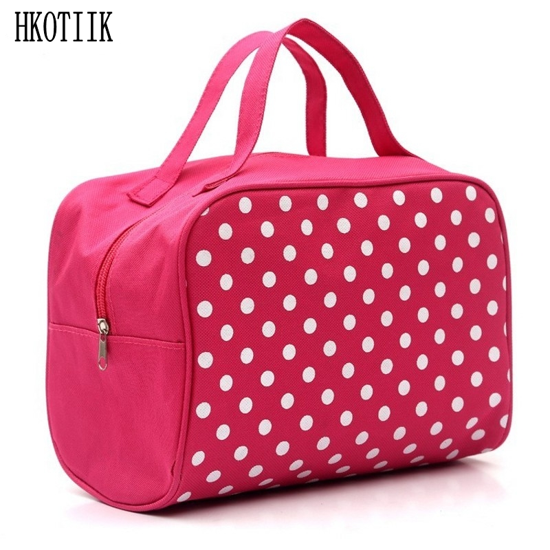 Organizer Toiletry bag Portable Multifunction Pouch Beauty Case Travel Cosmetic Bag Makeup Toiletry Case Make