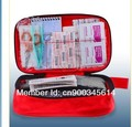 Free shipping deluxe 50pcs contents emergency first aid kit bag(CE,FDA APPROVED)