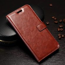 Smartphone Case For OnePlus 5 Case Oil Side Horse PU Flip Leather Housing Cover Bag