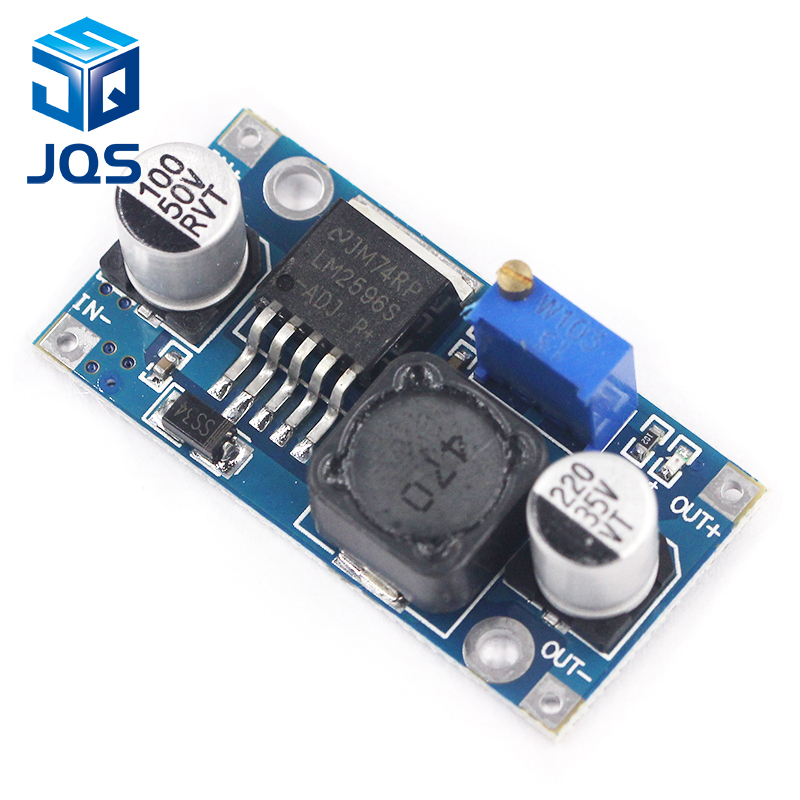 LM2596s DC-DC Step-down Power Supply Module 3A Adjustable Step-down Module LM2596 Voltage Regulator 24V 12V 5V 3V