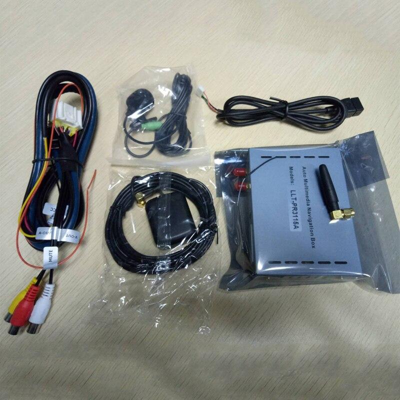 Boîte de Navigation GPS de voiture Android 6.0 pour lecteur DVD Pioneer support AVH-X toutes les séries ou avec connecteur RGB jaune