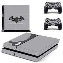 Batman Arkham Knight PS4 Skin Sticker Decal Cover  For Sony PS4 PlayStation 4 Console and 2 controller skins