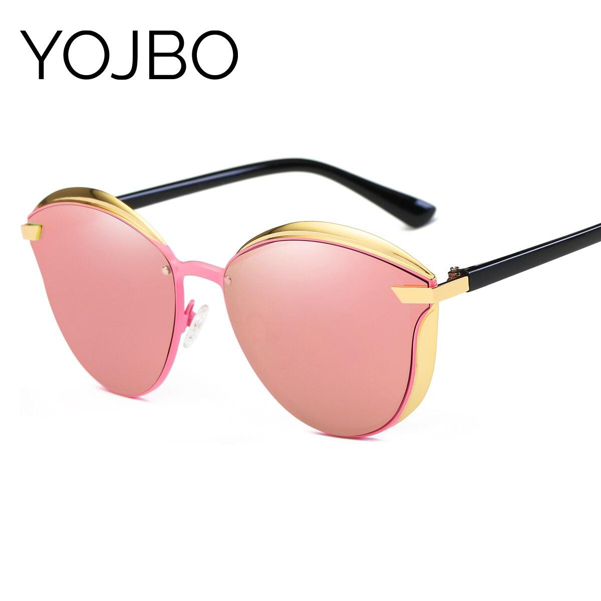 YOJBO Original Marke Polarisierte Sonnenbrille Frauen Blockieren Glares Uv-schutz Damen Sonnenbrille Spiegel Designer Frauen Brillen