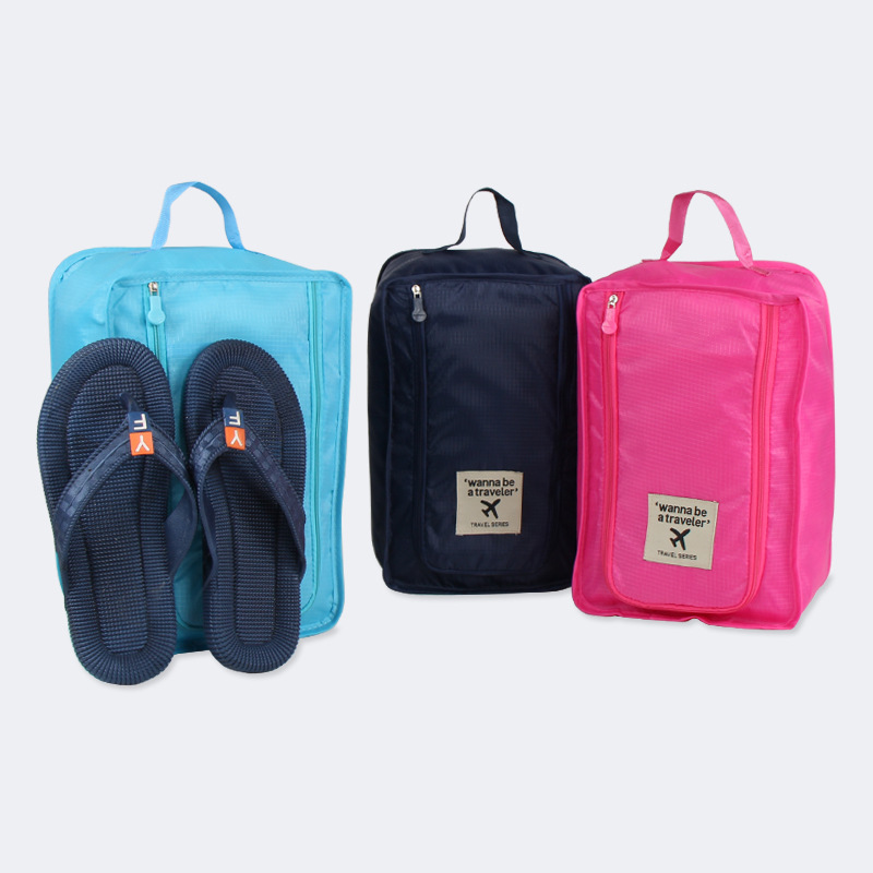 Travel Storage Bag Nylon Portable Shoes Storage Bag Clothes Organizer Bags Shoe Sorting Pouch Shoes Organizer Home storage