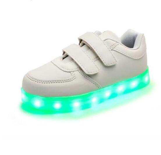 Childrens Shoes With Light USB Charging Luminous Sneakers Led Kids Light Up Shoes Casual Boys Girls Glowing ShoesChildrens Shoes With Light USB Charging Luminous Sneakers Led Kids Light Up Shoes Casual Boys Girls Glowing Shoes