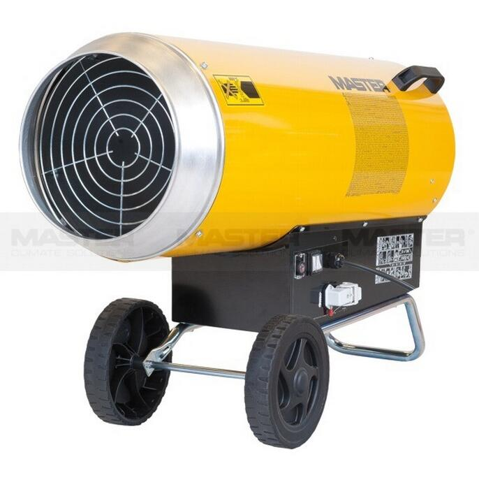 103kw electronic ignition Italian Master propane space heater, LPG hot air heater with available for temperature controller