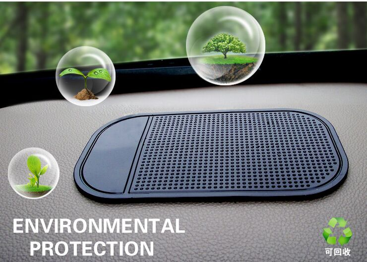 Wholesale 2016 Fashion Powerful Silica Gel Magic Sticky Pad Anti Slip Non Slip Mat for Car