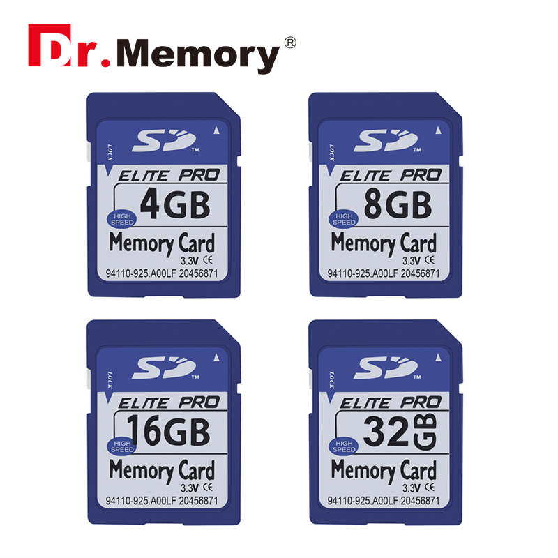 Memory Cards SD Card 8GB 16GB 32GB Transflash flash Memory Cards Digital SD 4GB Memory Card for Sony Canon mera laptop genuine samsung sd memory card 8gb