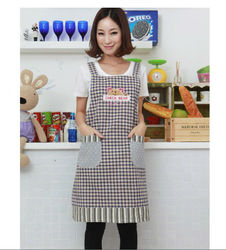 Hot cartoon kindergarten nail fashion kitchen restaurant woman cooking baking apron tea shop overalls work wear.jpg 250x250