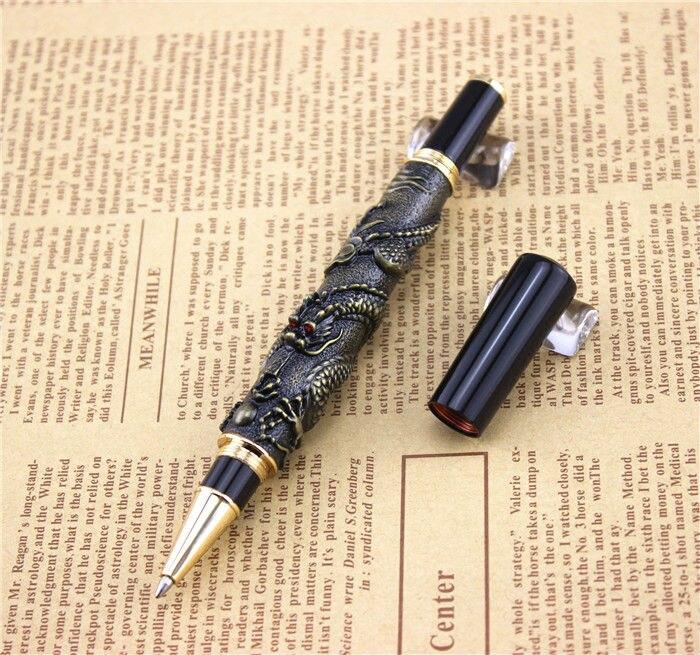 JINHAO kuličkové pero školní kancelářské potřeby vysoce kvalitní dračí kuličková pera luxusní obchodní dárek 003