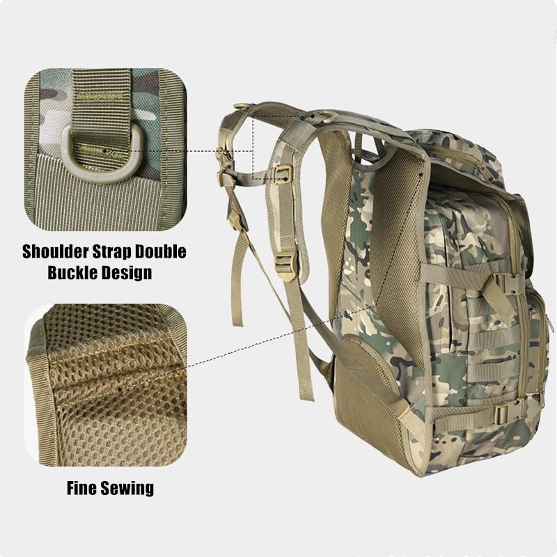 36L extérieur espadon sac à dos tactique Camouflage chasse alpinisme sac à dos Camouflage armée ventilateur sac - 5