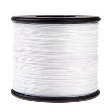 500M 100LB 0.5mm Super Strong Braided Fishing Line PE 4 Strands Color:White