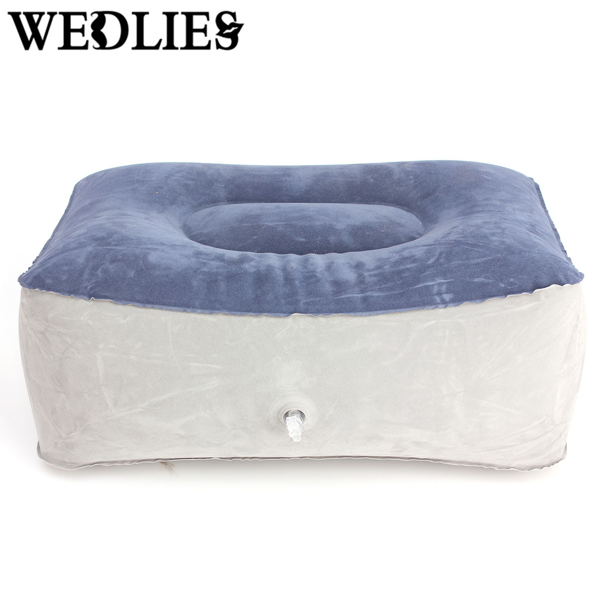Travel Inflatable Pillow PVC Inflatable Foot Rest Pillow Cushion ...