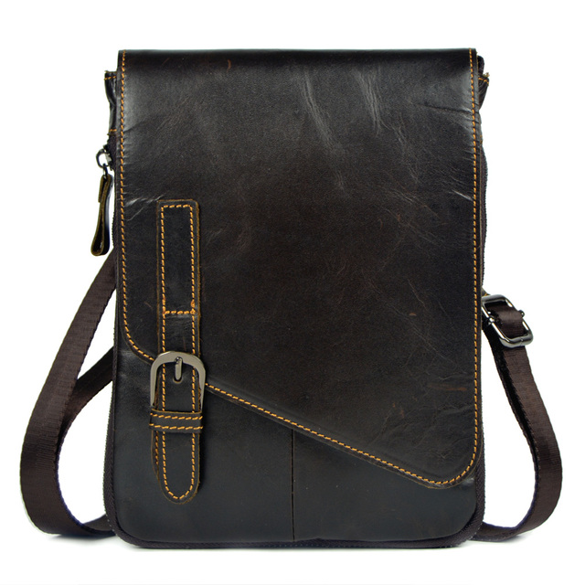 82f263603a genuine leather small messenger bags for men cowhide shoulder bags waist  pack new style handbags male ipad mini tablet PC bags