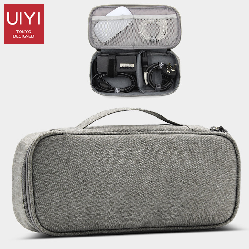 QEHIIE High Travel Electronics Accessories Organiser Bag Men Storage bag Case for Chargers Cables etc Travel Accessories bag headsets cables covers accessories for ssch nls device