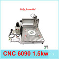 high quality machine 6090 1.5kw metal cnc engraving machine cnc router